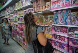 Intenção de compra para Dia das Crianças aumenta 20%, revela FGV