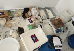Polícia localiza laboratório que preparava cocaína para ser distribuída na Paraíba e Pernambuco