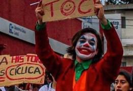 Coringa vira símbolo das manifestações no Chile