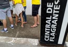 Grupo de estudantes é vítima de arrastão antes de embarcar para Recife