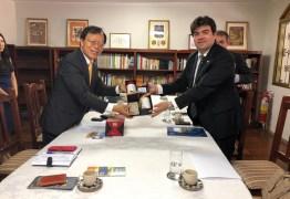 Eduardo participa de reunião com embaixador de Taiwan e debate intercâmbio para estudantes paraibanos