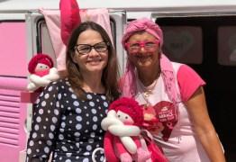 Vereadora Ivonete Ludgério prestigia lançamento do projeto da ONG Mulheres de Peito 'Kombi da Maria'