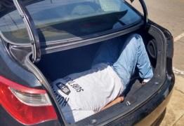 SEQUESTRO: Motorista de aplicativo é encontrado dentro de porta-malas em Santa Rita