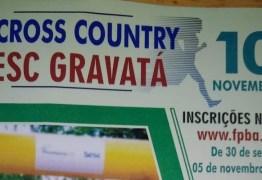 Inscrições abertas para Cross Country 2019 do Sesc Paraíba