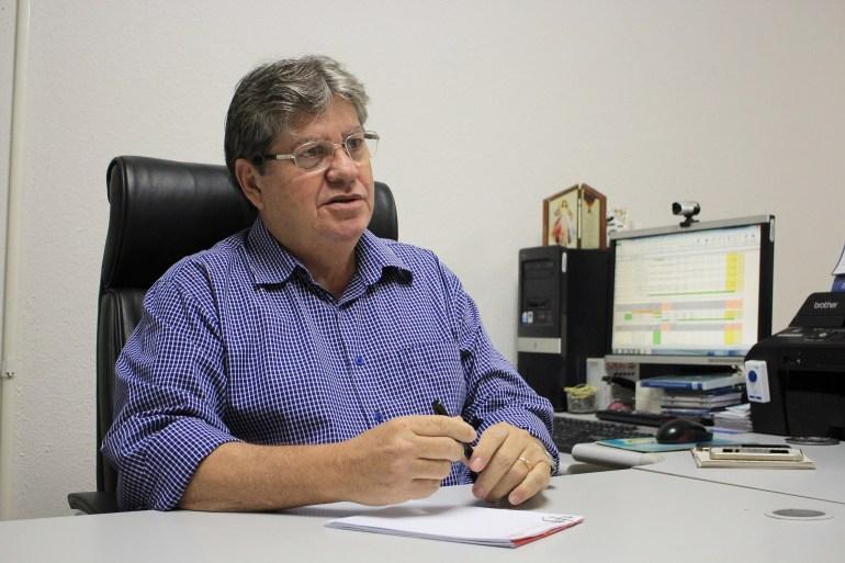 joao azevedo2 foto walla santos - NEGOCIAÇÕES: João Azevedo pode integrar PDT