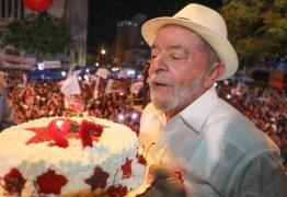PT paraibano prepara festa com bolo e música para comemorar aniversário de Lula