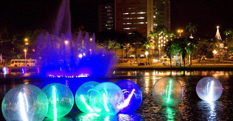 natal luzes joao pessoa 780x405 - Luciano Cartaxo lança iluminação natalina de 2019 no Parque da Lagoa