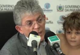 Juiz libera viagem de Ricardo Coutinho com filho para à Espanha