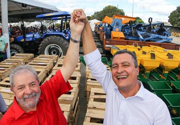 rs lula recebe titulo cidadao juazeirense 003 - Rui Costa é o governador mais bem avaliado no Congresso; Witzel é o pior