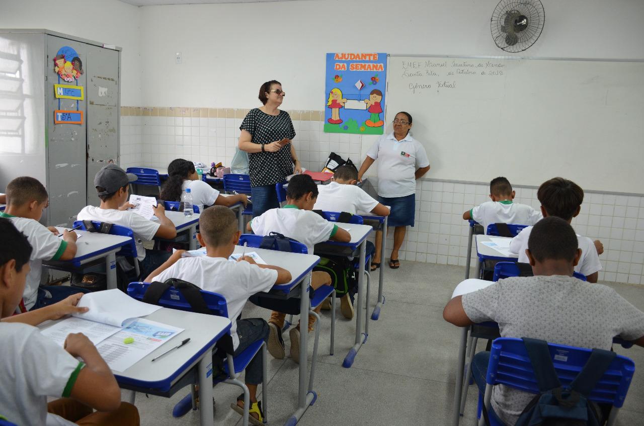 simulado 2 - Simulado prepara alunos de Santa Rita para provas do Saeb 2019