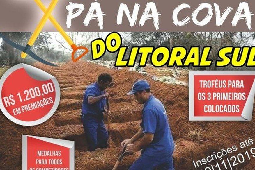 torneio de coveiro em conde pb - 'PÁ NA COVA': torneio de coveiro mais rápido promete premiação de R$ 1.200, na Paraíba