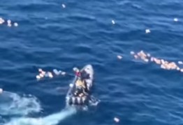 Traficantes resgatam policiais após perseguição em alto mar e acabam presos