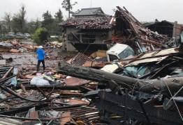 ENCHENTE, DESTRUIÇÃO E MORTE: Tufão Hagibis chega ao Japão neste sábado – VEJA IMAGENS