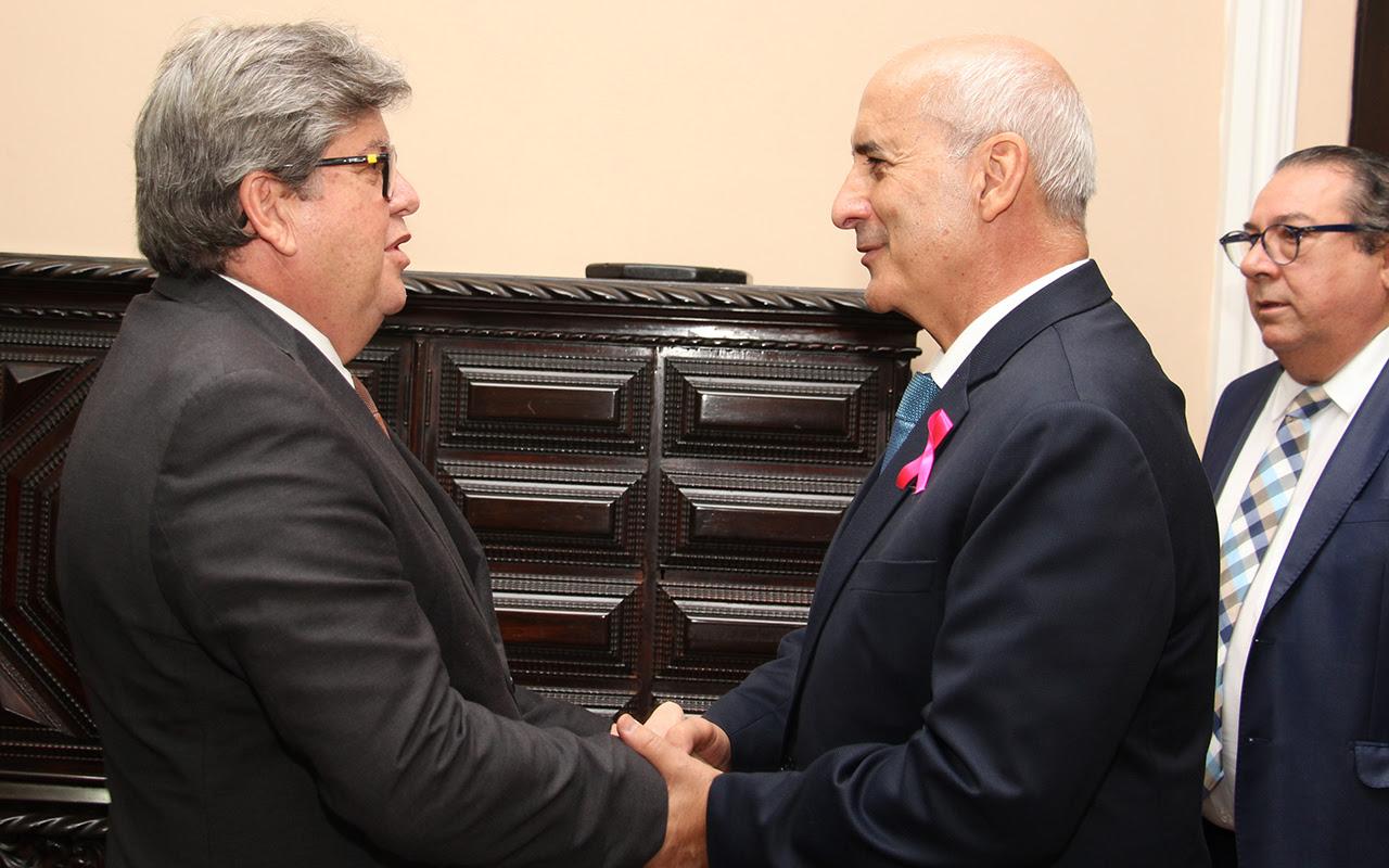 unnamed 3 - João Azevêdo apresenta ações e pleiteia investimentos para a Paraíba ao ministro-chefe da Secretaria de Governo
