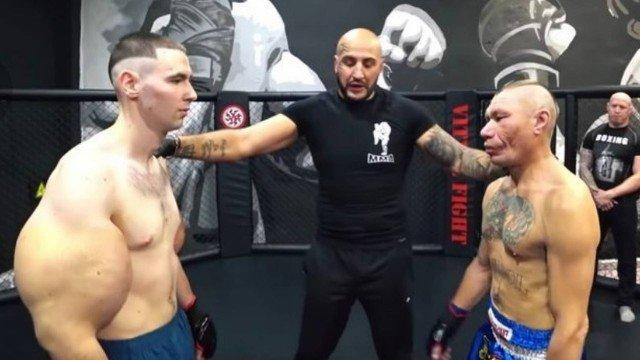 xblog popeye.jpg.pagespeed.ic .moJR4n9DPr - 'Popeye' faz estreia no MMA e perde luta em 3 minutos; VEJA VÍDEO