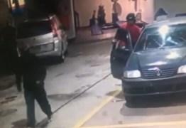 A MORTE BATEU À PORTA: Assaltante infarta e morre durante roubo a posto de gasolina – VEJA VÍDEO