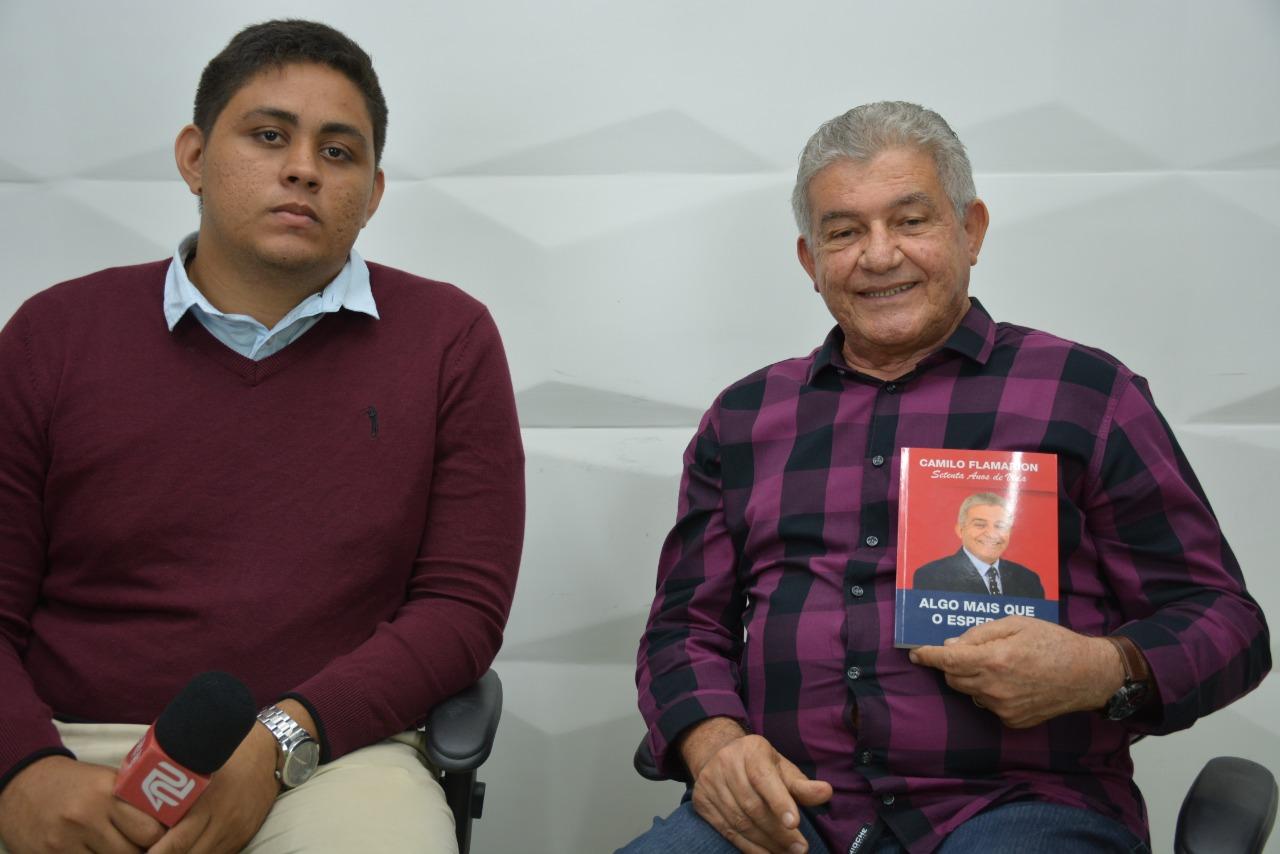 6d787421 407f 45d5 84fe a8f845f29191 - ALGO MAIS QUE O ESPERADO: Camilo Flamarion fala sobre o lançamento de seu novo livro e os prazeres de escrever - VEJA VÍDEO