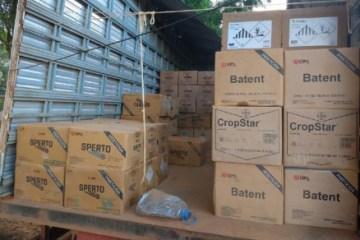 9085a0448d0e738ed68e923f02709b41 - Ladrões invadem fazenda e levam R$ 260 mil em agrotóxicos
