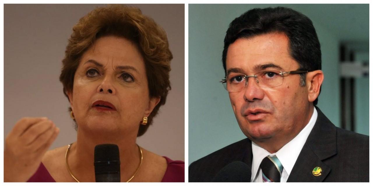 BeFunky collage - PF pede a prisão da ex-presidenta Dilma Rousseff e do ministro Vital do Rêgo, mas Fachin nega
