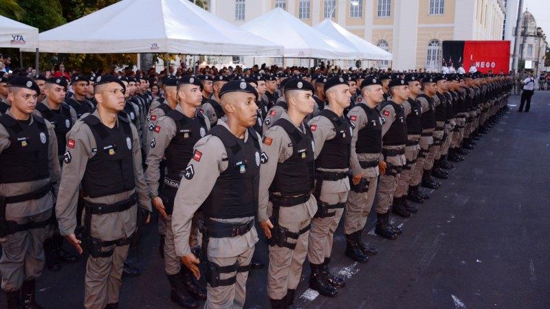 CFSD - Quase mil policiais reforçam segurança na Paraíba durante feriadão