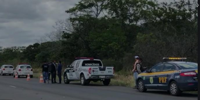 Capturar 45 - Família reconhece corpo de jovem encontrada morta com feto arrancado às margens da BR-230