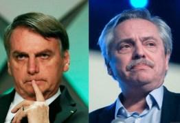 Bolsonaro diz que não irá à posse de Fernández e nega retaliação