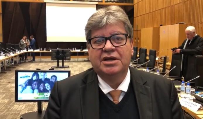 JOÃO AZEVÊDO PLAY - Na Europa, João Azevêdo diz ter 'esperança' de investimentos no Nordeste; VEJA VÍDEO