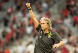 Jorge Jesus enaltece títulos do Flamengo: 'Esse grupo vai ficar para história'