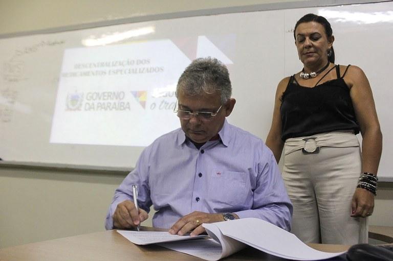 Luciano Carneiro secretário - Parceria garantirá descentralização do Cedmex para Santa Rita