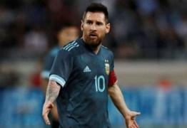 Messi diz que tinha dificuldade em fazer gols no começo da carreira