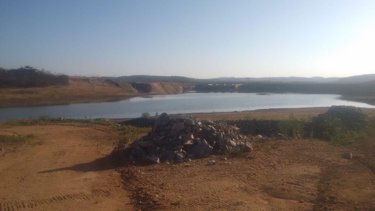 WhatsApp Image 2019 11 14 at 20.47.26 - Transposição do São Francisco em Monteiro: Barragem está com o volume baixo para atingir canal e, água não chegará até dezembro de 2019 - VEJA VÍDEO