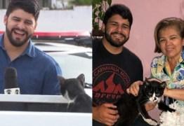 Repórter de Campina Grande revela que tia adotou gato intruso: 'Agora o 'delegato' tem um lar'