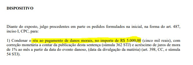"""condenação 01 - MULTA E DIREITO DE RESPOSTA: Empresa que fez propaganda de Bolsonaro e foi acusada pela Época de ser """"fantasma"""" ganha causa na justiça"""