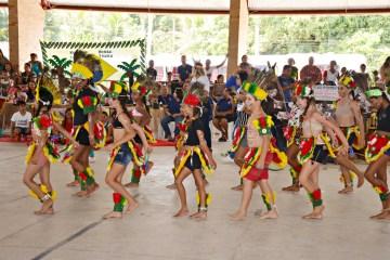 culminancia indigena 2 3 - Centenas de alunos de Santa Rita apresentam projeto sobre tradições indígenas