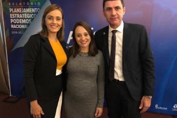 Ana Cláudia participa do Planejamento Estratégico 2019/2022 do PODEMOS