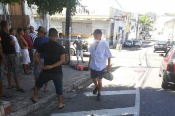 esfaqueado e1574366621981 - Ex-presidiário é esfaqueado no meio da rua no Centro de João Pessoa
