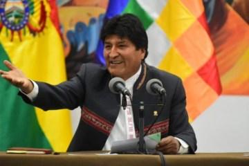 evo2 e1573514048157 - Congresso boliviano condena golpe de Estado e reconhece Evo como presidente