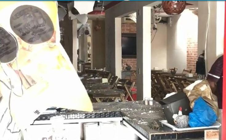 FUNCIONÁRIAS FERIDAS: Botijão de gás explode em restaurante de João Pessoa