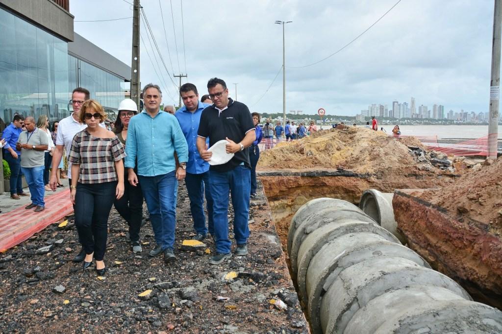 lucianocartaxo obrabarreiracabobranco foto dayseeuzebio 6 1024x682 - Governo Federal autoriza recursos para obra da Barreira do Cabo Branco