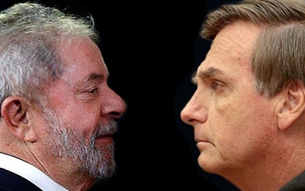 lula bolsonaro 1 - Lula ameaçando Deus e todo mundo é presente para Bolsonaro 2022 - Por J.R. Guzzo