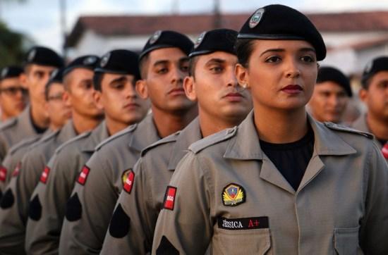 Candidatos convocados para a nova turma de soldados da Polícia Militar iniciam a pré-matrícula