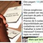racismo vaga emprego 850x491 - Empresa exige que cuidadoras de idosos não sejam 'negras e gordas' e provoca revolta: 'Fiquei desesperada'