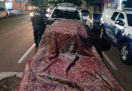 Tapete iraniano antigo avaliado em R$ 50 mil é roubado e trocado por cocaína