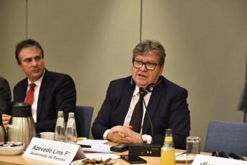 João Azevêdo destaca potencial tecnológico de Campina Grande em encontro com empresários alemães – VEJA VÍDEO