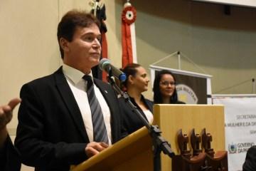 Governador em exercício participa de seminário sobre os 100 dias da Patrulha Maria da Penha