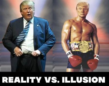 xblog trump illusion.jpg.pagespeed.ic .zeZwtYgWyZ - Trump posta foto em que se retrata como Rocky Balboa