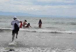 Fiscal da vigilância sanitária salva criança de ataque de cachorro em praia