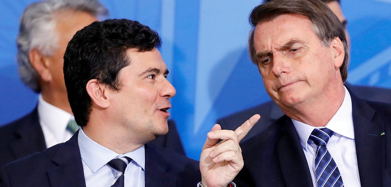 20190905080920 9cdac1b9 3794 475e 8b43 f44957bd5824 1 - 'É muito cedo para falar em eleições', diz Bolsonaro sobre Moro como futuro vice