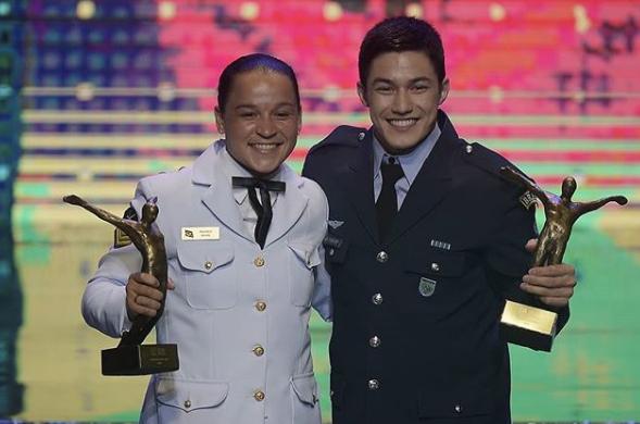 Alexandre Loureiro COB - Bia Ferreira e Arthur Nory conquistam Prêmio Brasil Olímpico