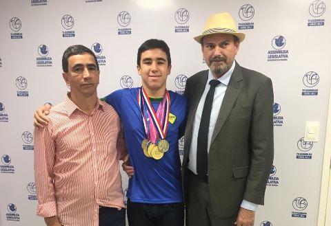 Capturar0 - ALPB aprova Moção de Aplauso para atleta paraibano Daniel Azevedo